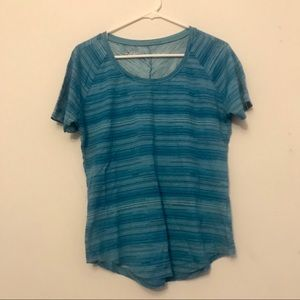 KUHL striped hiking t shirt